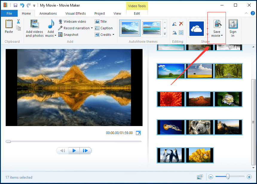 Windows Movie Maker How To Save Movie Maker Project 2019 Windows Movie Maker Movies Maker