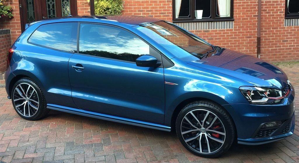 Silk Blue Gti Polo 3 Door Vwpologtiart Volkswagen Polo Gti Vw