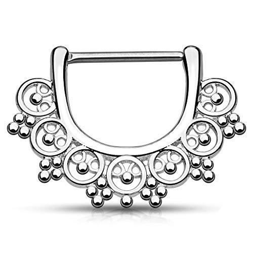 Freedom Fashion Star 316L Stainless Steel Nipple Shield