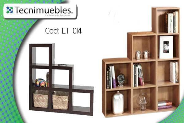 Librero esquinero redondo mueble para sala pinterest for Librero escalera