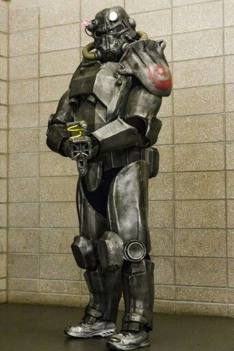 Fallout Power Armor Post Apocalypse Pinterest