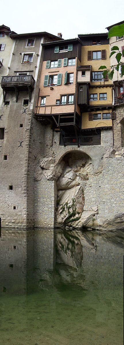 Pont-en-Royans . Rhône-Alpes