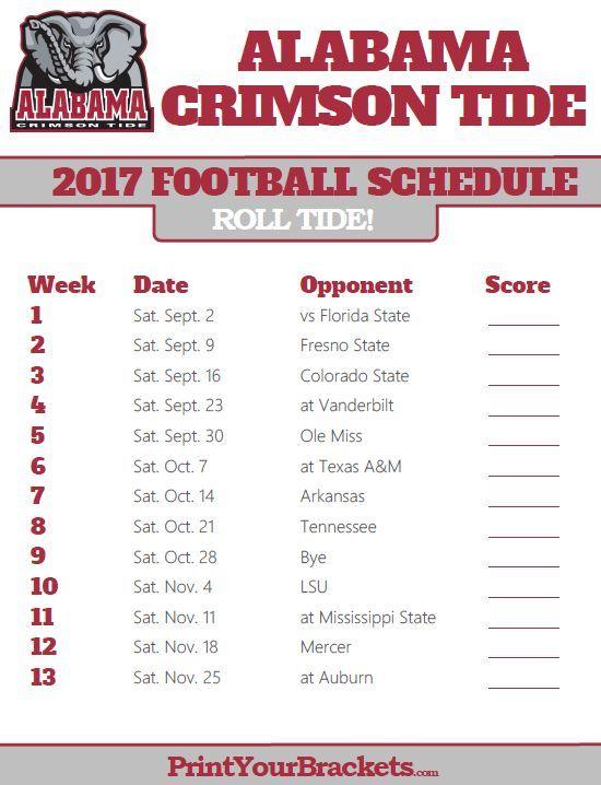 Ou Football Schedule 2020 Printable