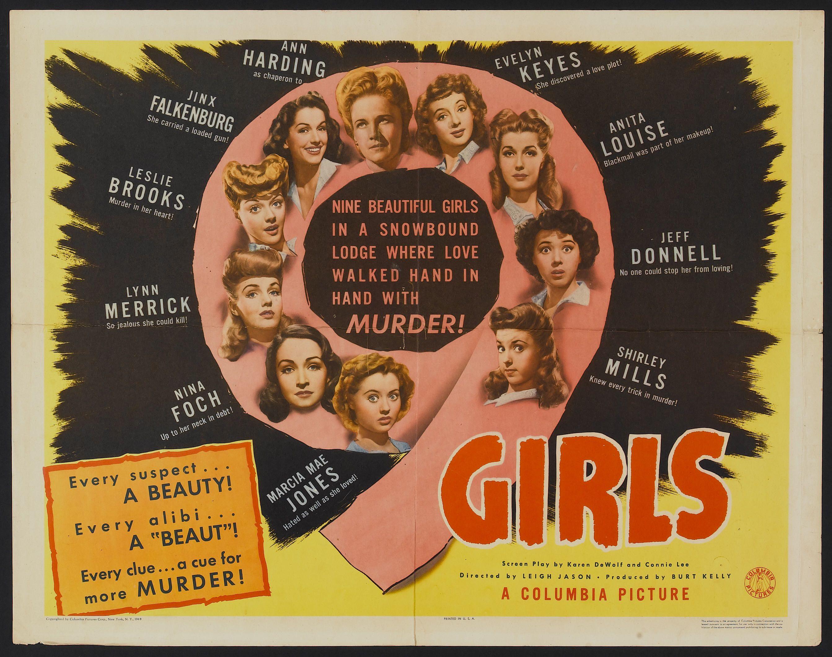 Image result for nine girls 1944
