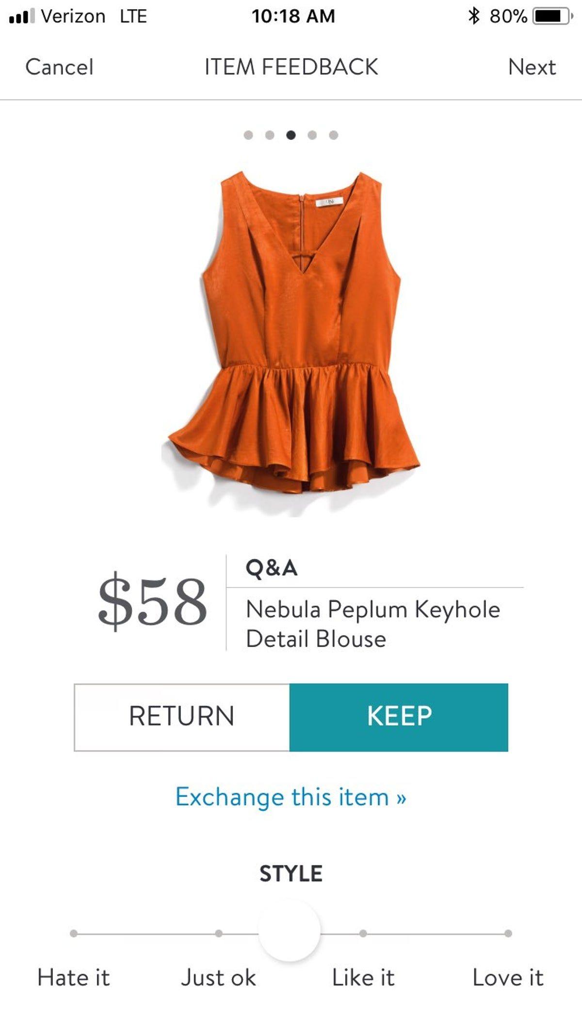 Stitch Fix Q A Nebula Peplum Blouse Stitch Fix Dress Stitch Fix Outfits Stitch Fix [ 2134 x 1200 Pixel ]