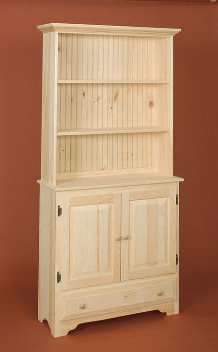 Awesome Countryside Bookcase With Lots Of Storage Space Underneath Unfinished Pine Furniture Solid Pine