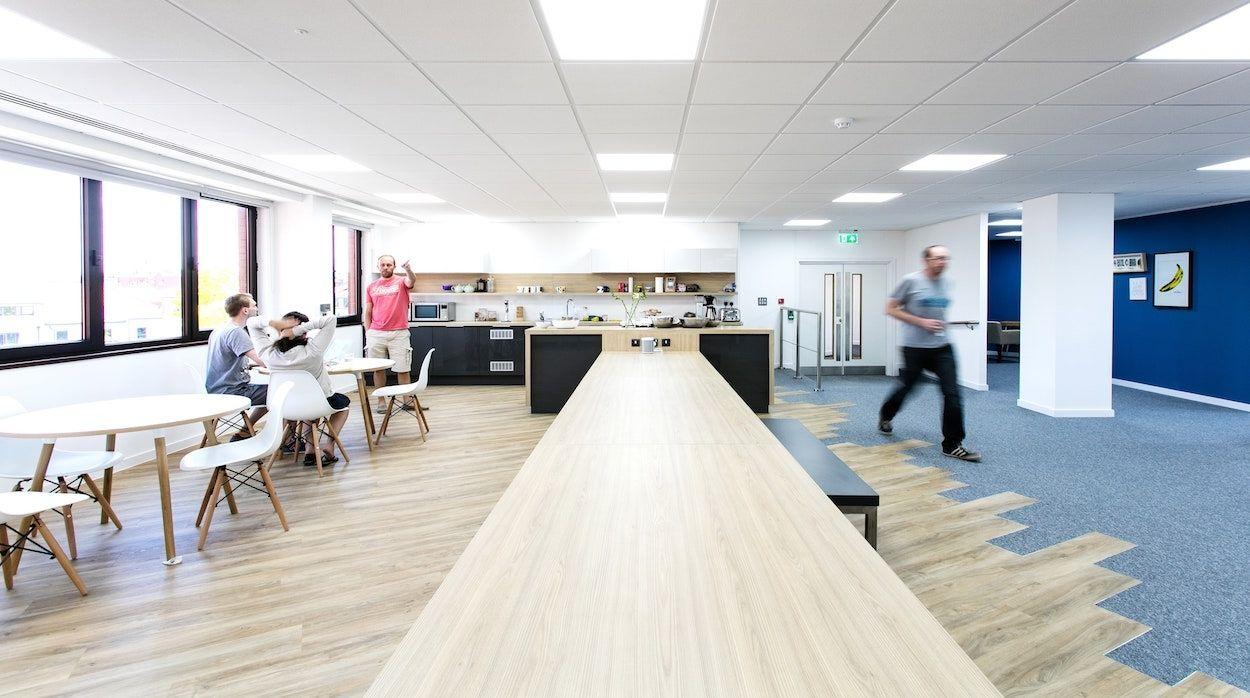 Interaction Case Study Sift Digital Bristol Office Design - Kitchen designers bristol