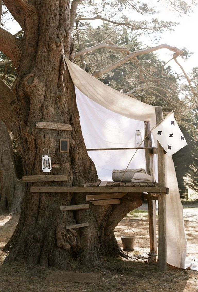65 Rustic DIY Treehouse for Kids Play that You Should Make ...