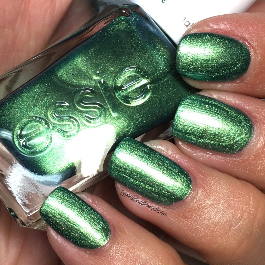 Jade to Measure & Flashed by Essie Gel Couture - Christmas Manis ...