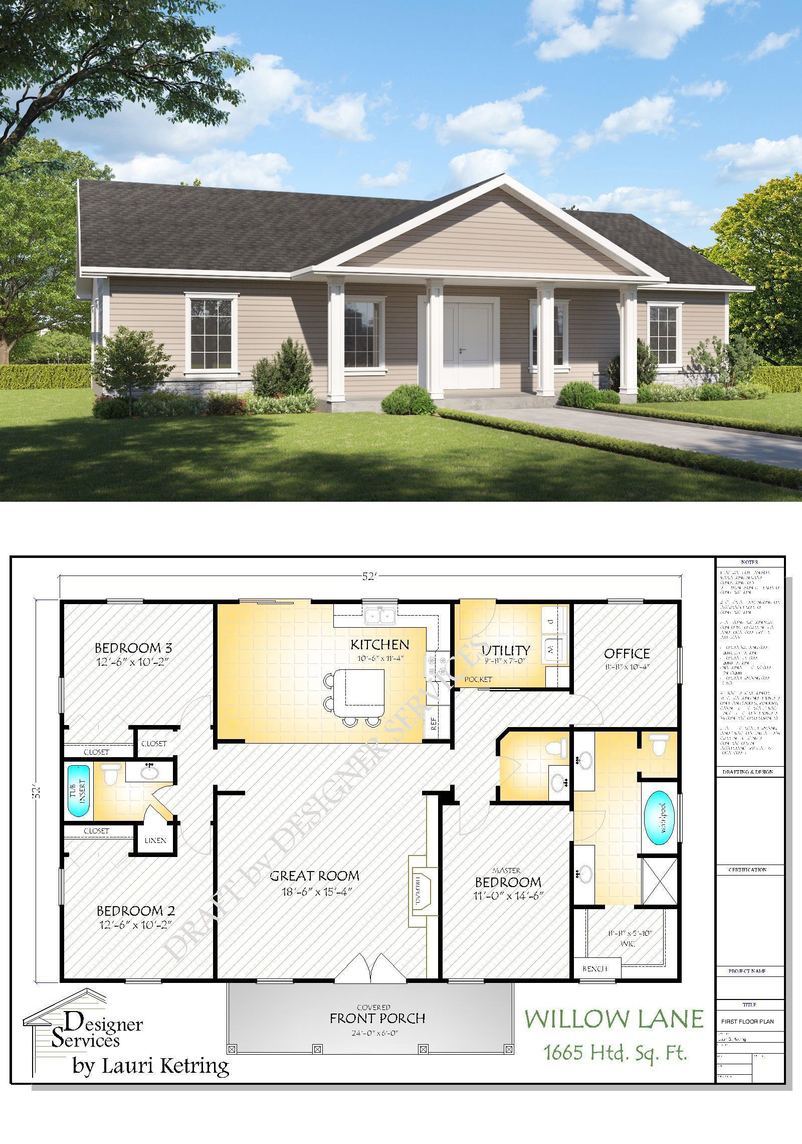 Building Plans And Blueprints 42130 The Willow Lane House Plan Buy It Now Only 75 On Ebay Buildi Building A House Small House Remodel Dream House Plans