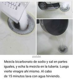 Destapar Lavamanos Y Bañera Trucos De Limpieza Limpieza Limpiar Tuberias