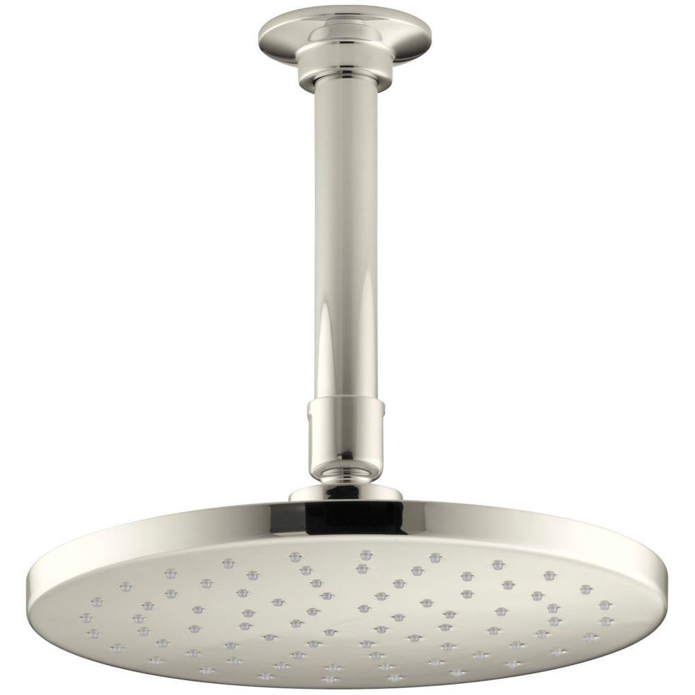 Kohler 1 Spray 8 In Single Ceiling Mount Fixed Rain Shower Head