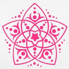 FLOWER OF LOVE - Venus Flower, c, symbol of love, balance and beauty / Camisetas