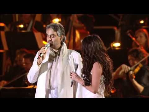 Sarah Brightman Y Andrea Bocelli Canto Della Terra Subtitulos