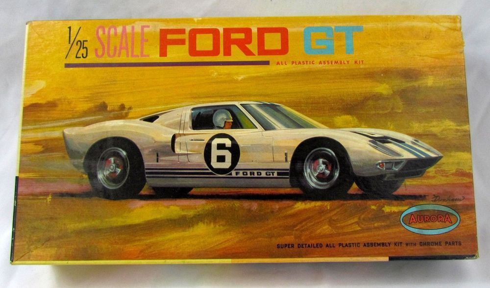 Image result for aurora ford gt40 model kit