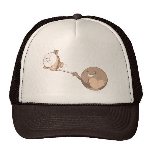c3bd86e969eb6 Pluto Selfie Trucker Hat