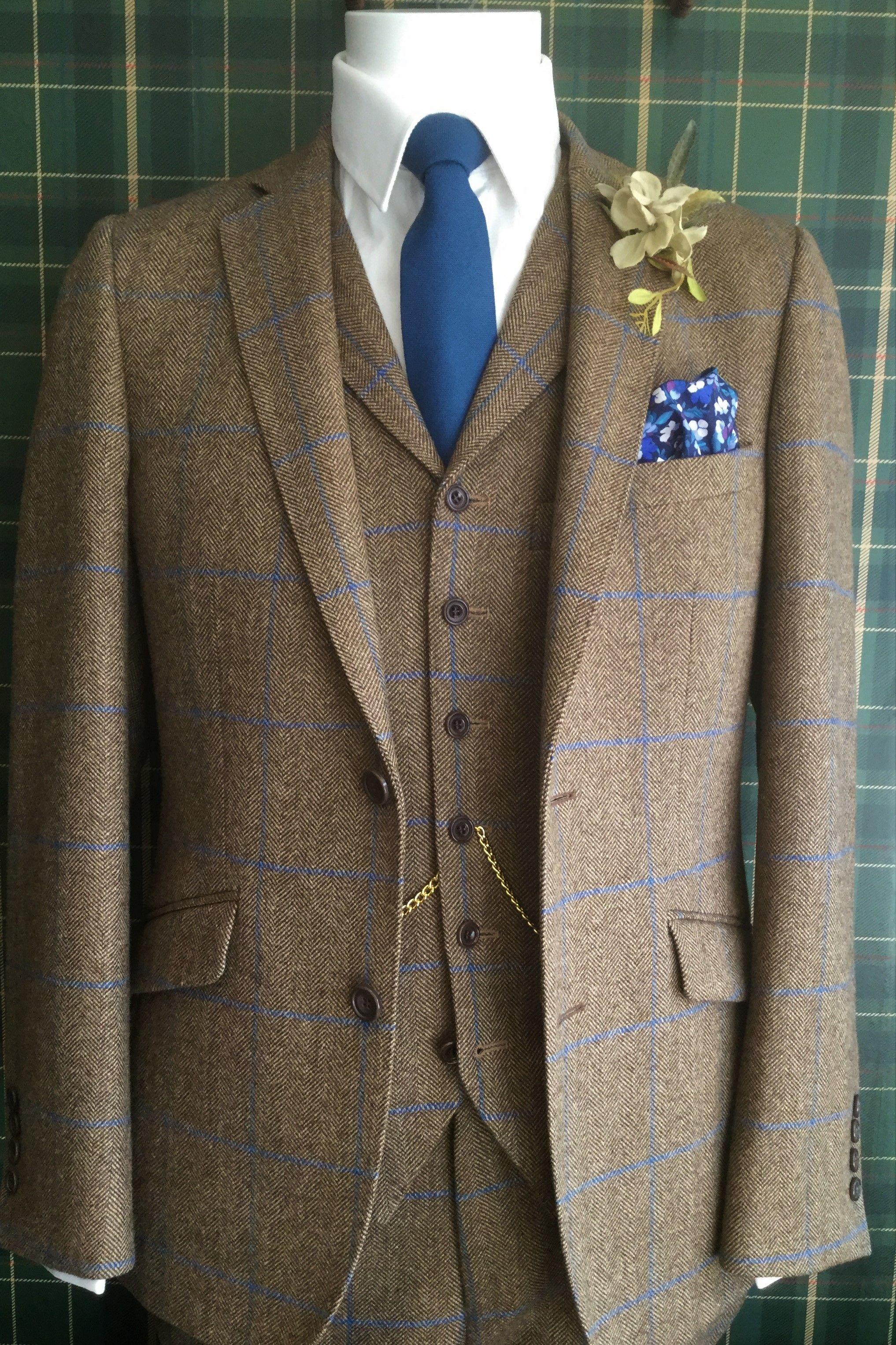 43ac9dbf3b6b Tweed Suit Hire Berkshire, Hampshire & Surrey | Suits | Tweed suits ...