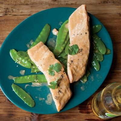 Coconut-Curry Salmon | CookingLight.com