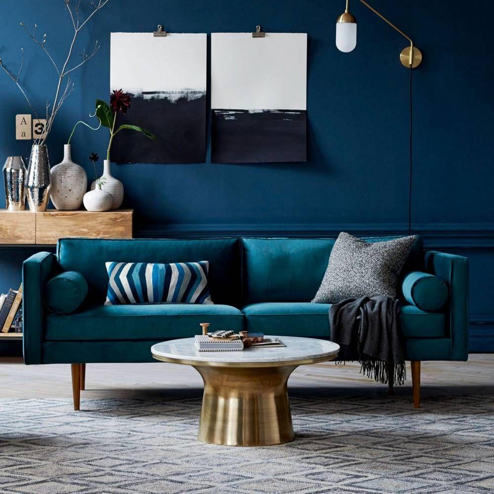 tendance le monochrome color chez soi photo west elm deco monochrome couleur peinture. Black Bedroom Furniture Sets. Home Design Ideas