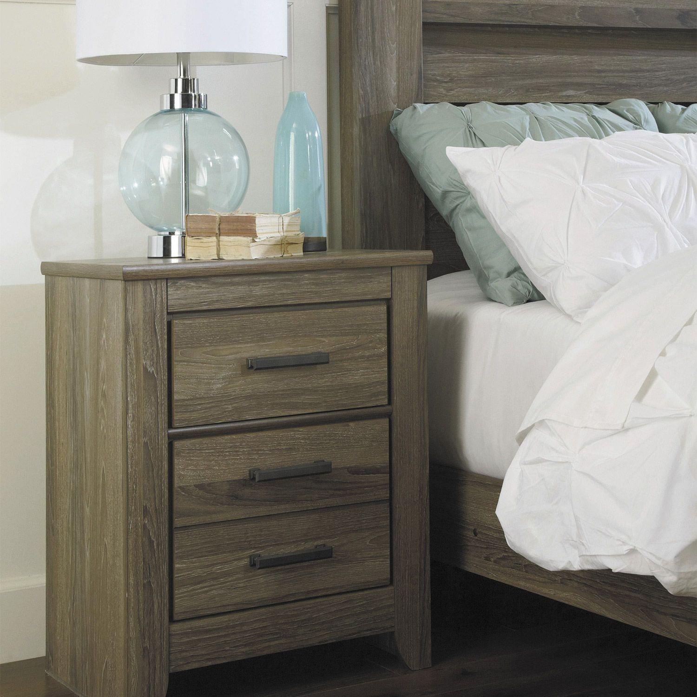 Zelen Nightstand Furniture, Bedroom furniture, Warm grey