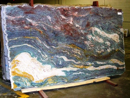 Dalis Dream Slab (Exotic Granite Countertop Colors) |  Http://www.fireplacecarolina.com