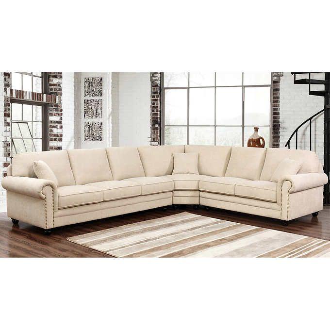 Recliner Sofa Deana Fabric Sectional
