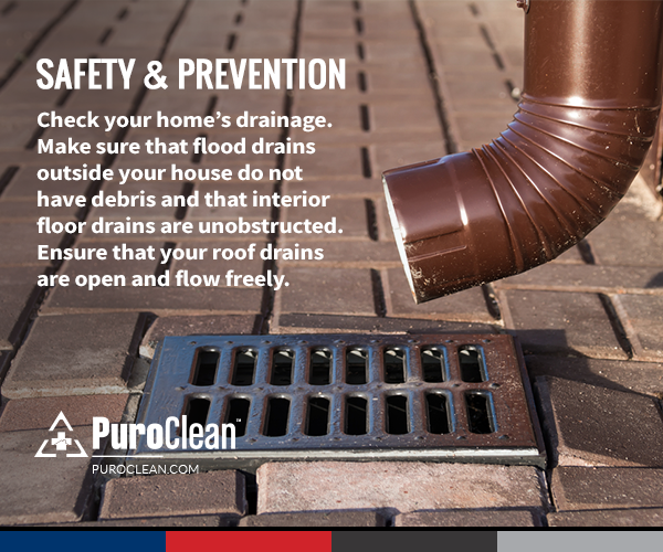 Safety Reminder Keep Your Flood Drains Unobstructed Restoration Drains Roof Drain