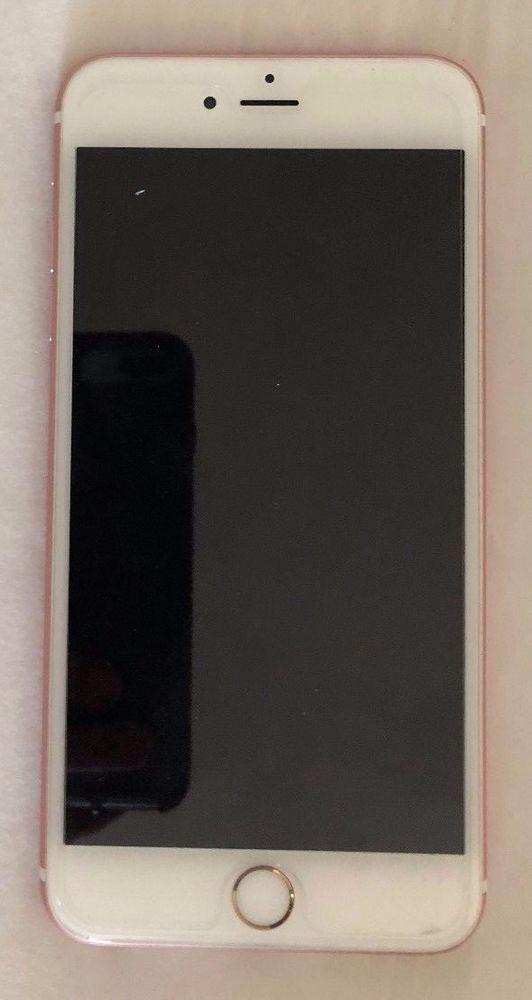 Apple Iphone 6s Plus 128gb Rose Gold Unlocked Smartphone