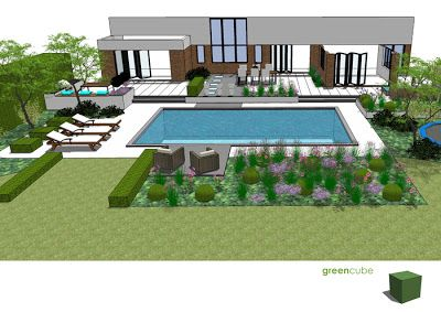 Greencube Garden And Landscape Design Uk Garden Design With Swimming Pools Pool Landscape Design Swimming Pool Landscaping Swimming Pools
