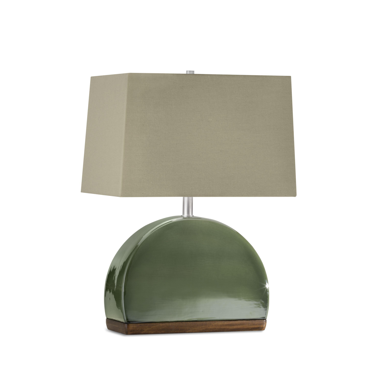 Nova Lighting Media Luna Table Lamp Jade