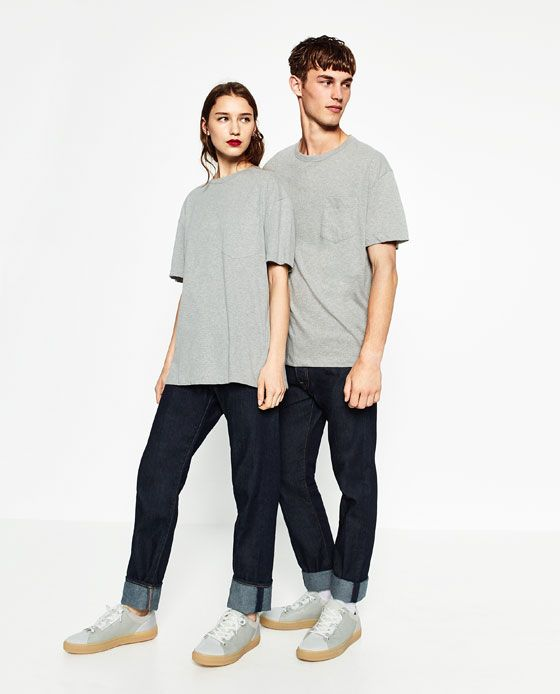 88eaec23 Image 2 of UNGENDERED T-SHIRT WITH POCKET from Zara | s t y l e ...