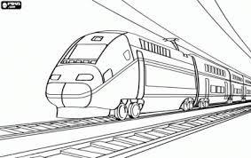 Coloriage Train Tgv A Imprimer Recherche Google Clem Activité