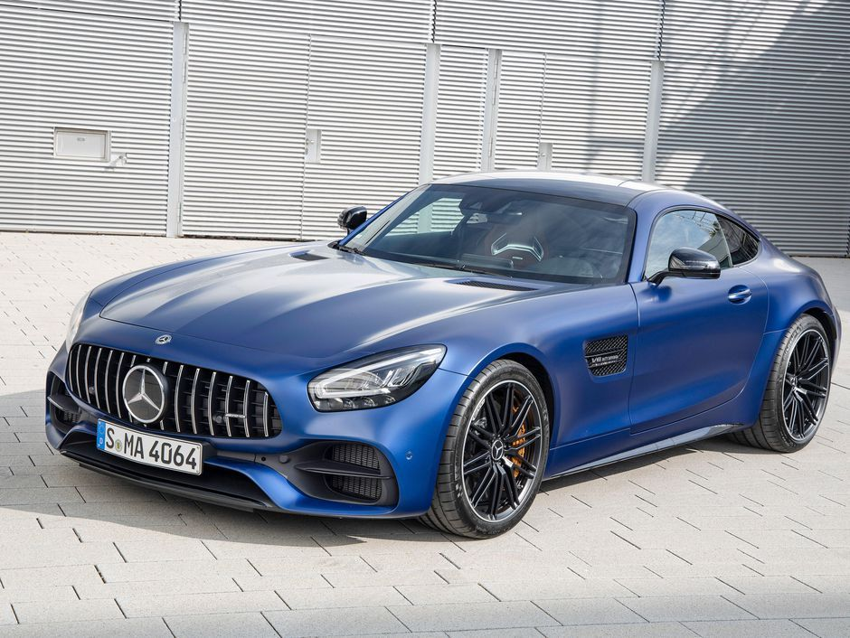 The 2020 Mercedes Amg Gt Coupe Gets A New Look Inside And Out