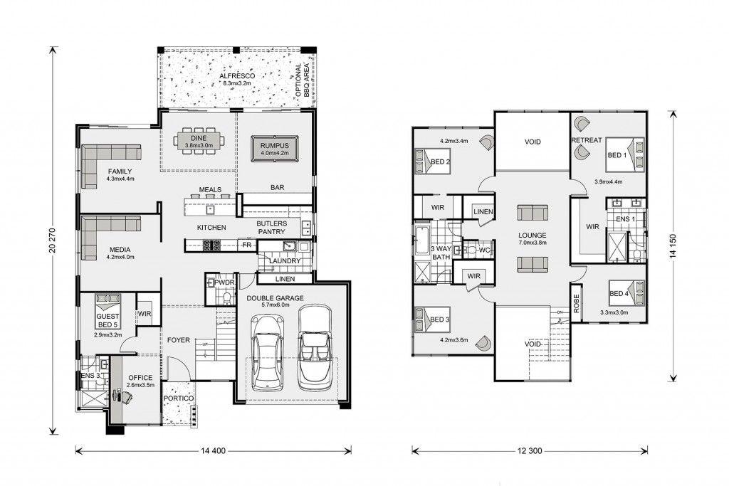 Blue Water 386 Custom Home Design G J Gardner Homes En 2020