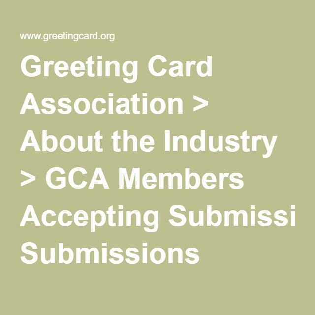 Greeting card association about the industry gca members greeting card association about the industry gca members accepting submissions m4hsunfo