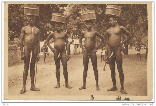 tribal penis stretching