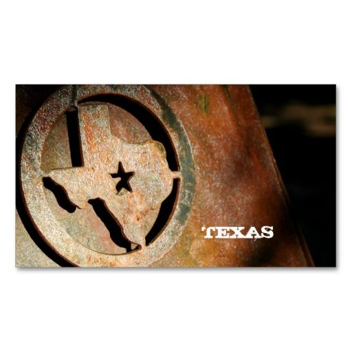 Texas map business card star metal stars texas and business cards texas map business card star metal reheart Choice Image