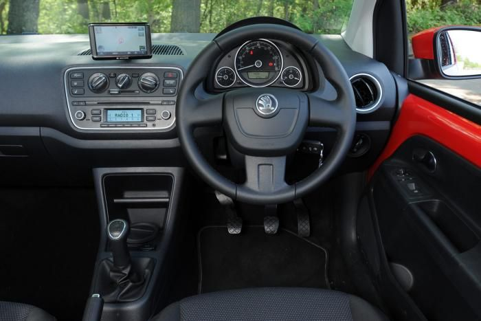 Interior Of The Skoda Citigo