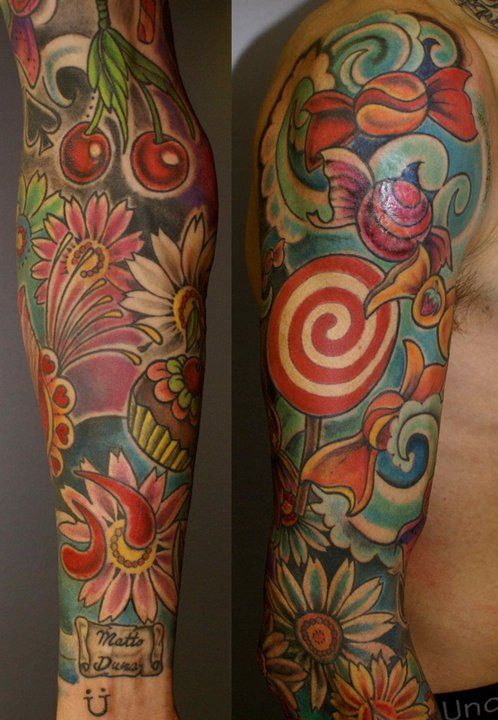 lovely tattoo by Ursula  www.ghirigorifamily.com