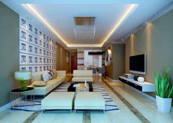 schöne indirekte beleuchtung im wohnzimmer Beleuchtung - beleuchtung wohnzimmer ideen
