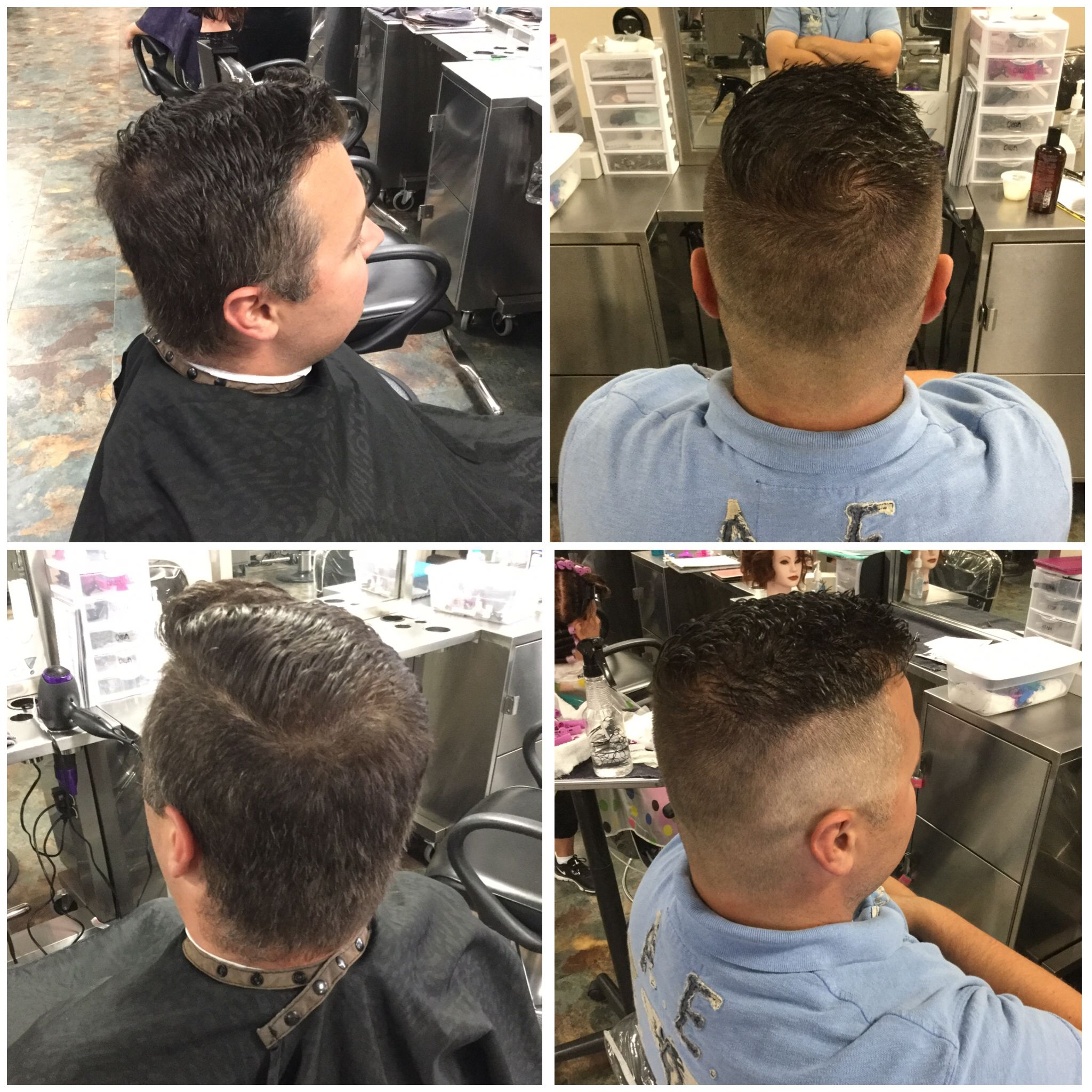 Fade From A 0 To A 1 And Finger Length On Top Mens Haircuts