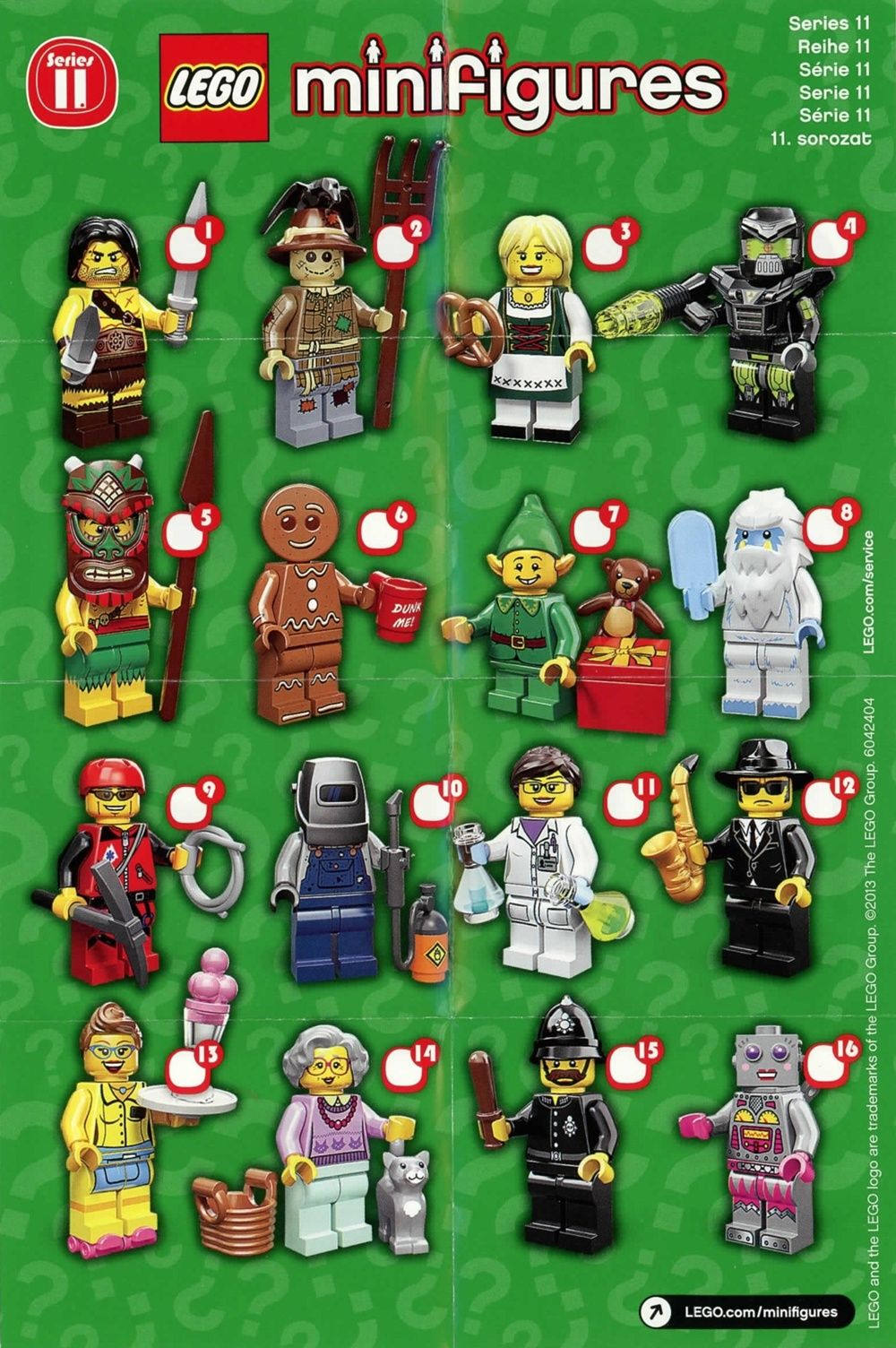 MINIFIG**** ****NEW LEGO SERIES 11 COLLECTIBLE MOUNTAIN CLIMBER MINIFIGURE