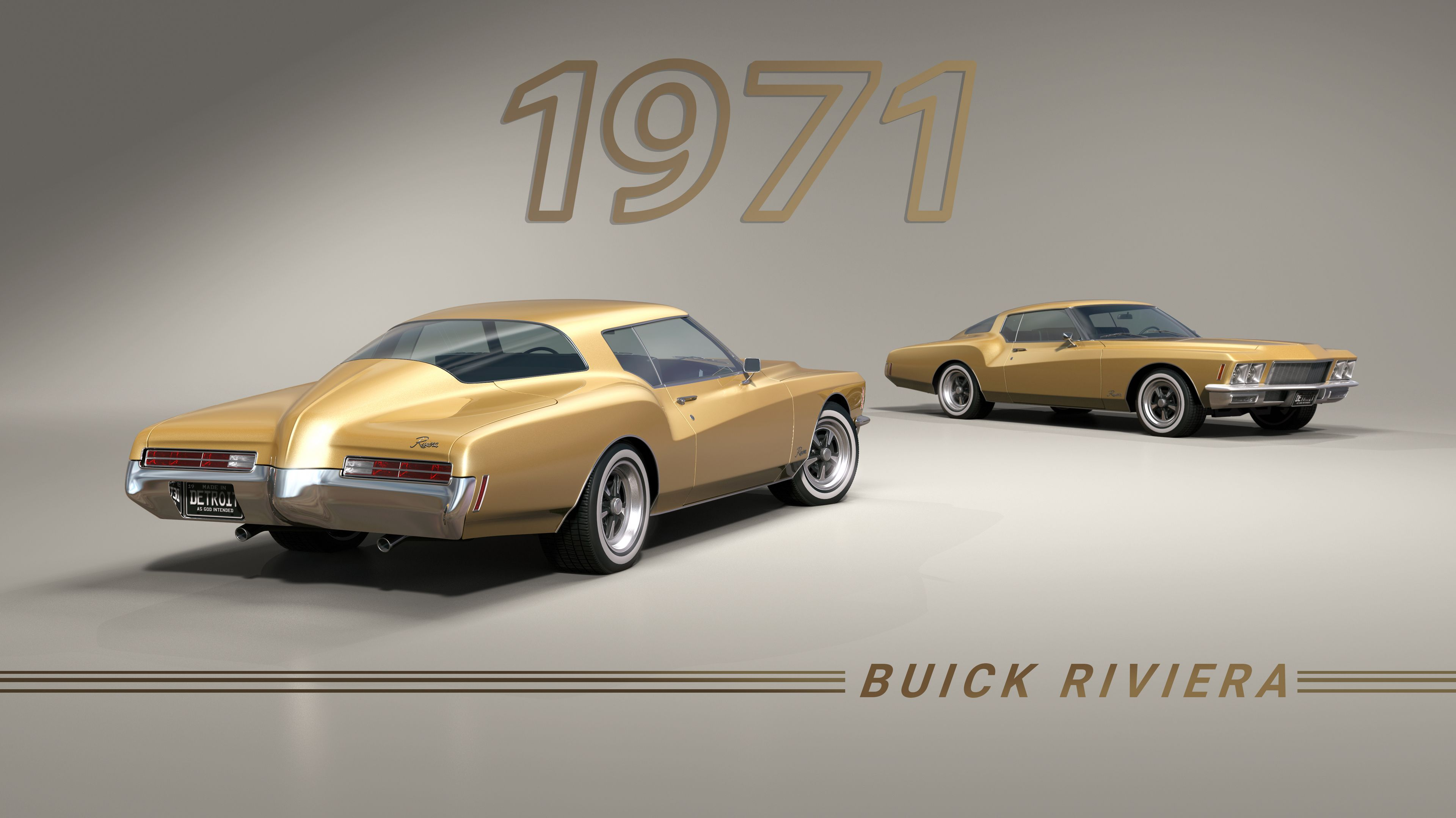 3840x2160 1971 buick riviera rendered in keyshot by. Black Bedroom Furniture Sets. Home Design Ideas