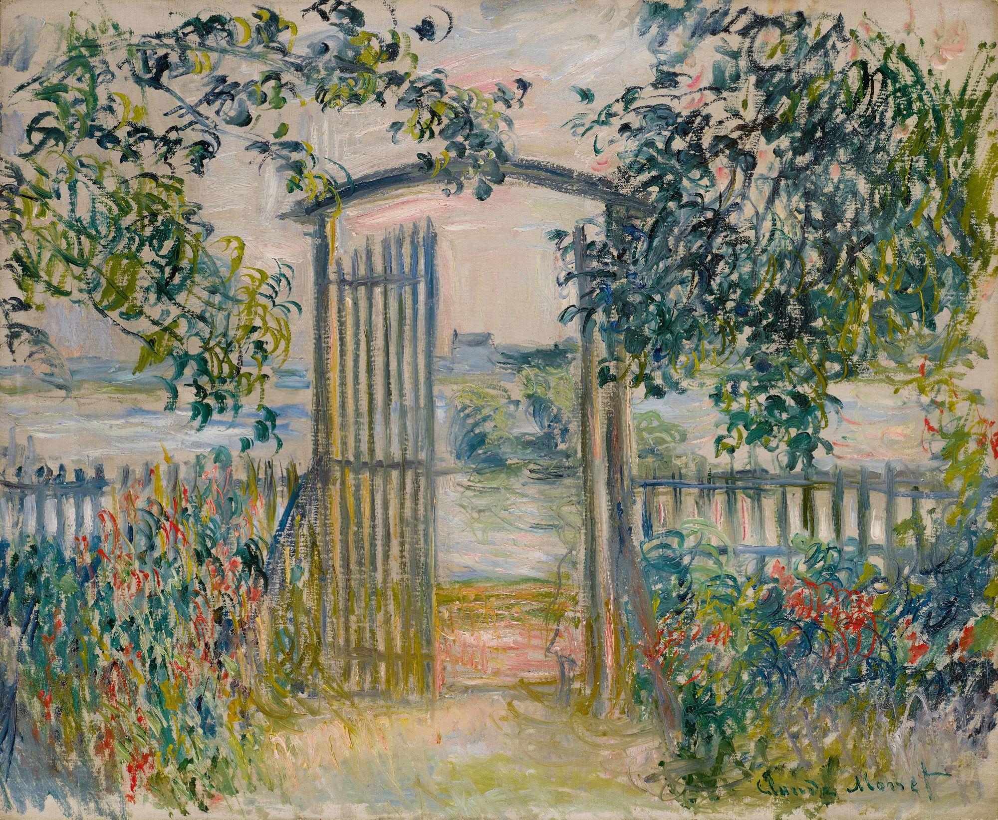 First Look: Impressionist & Modern Masters Tour to New York | Sotheby's  Claude Monet, La porte du jardin à Vétheuil. Es… | Monet art, Claude monet  art, Artist monet