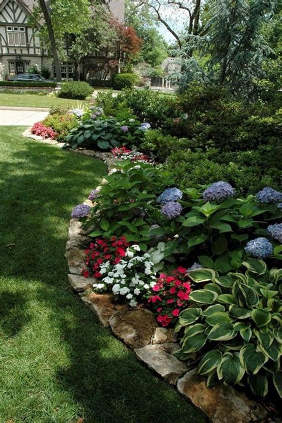 35 Diy Simple Landscaping Design Ideas For 2019 5 Small Front Yard Landscaping Porch Landscaping Shade Garden Design