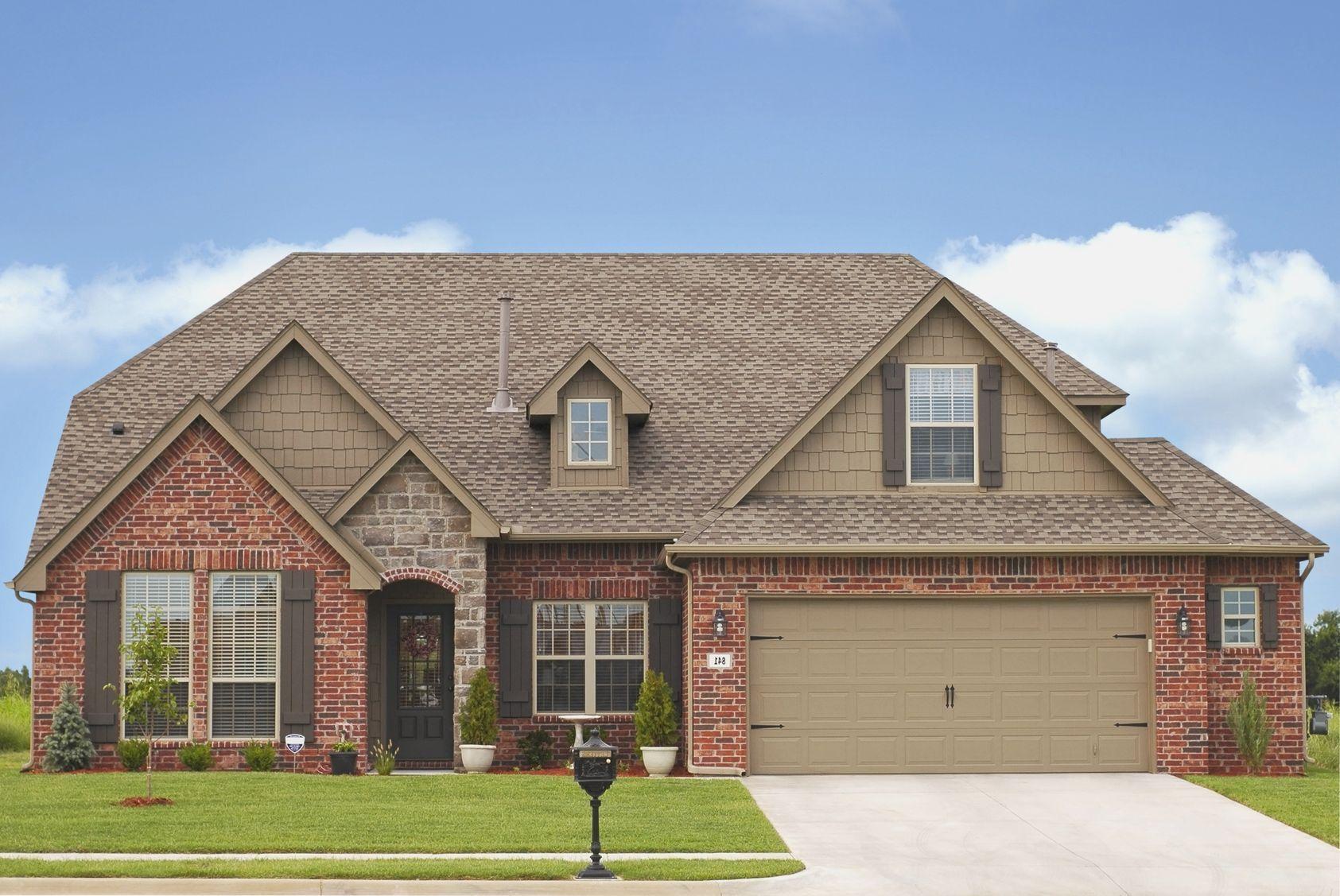 paint brick house grey exterior trim colors on red house exteriors rh pinterest com