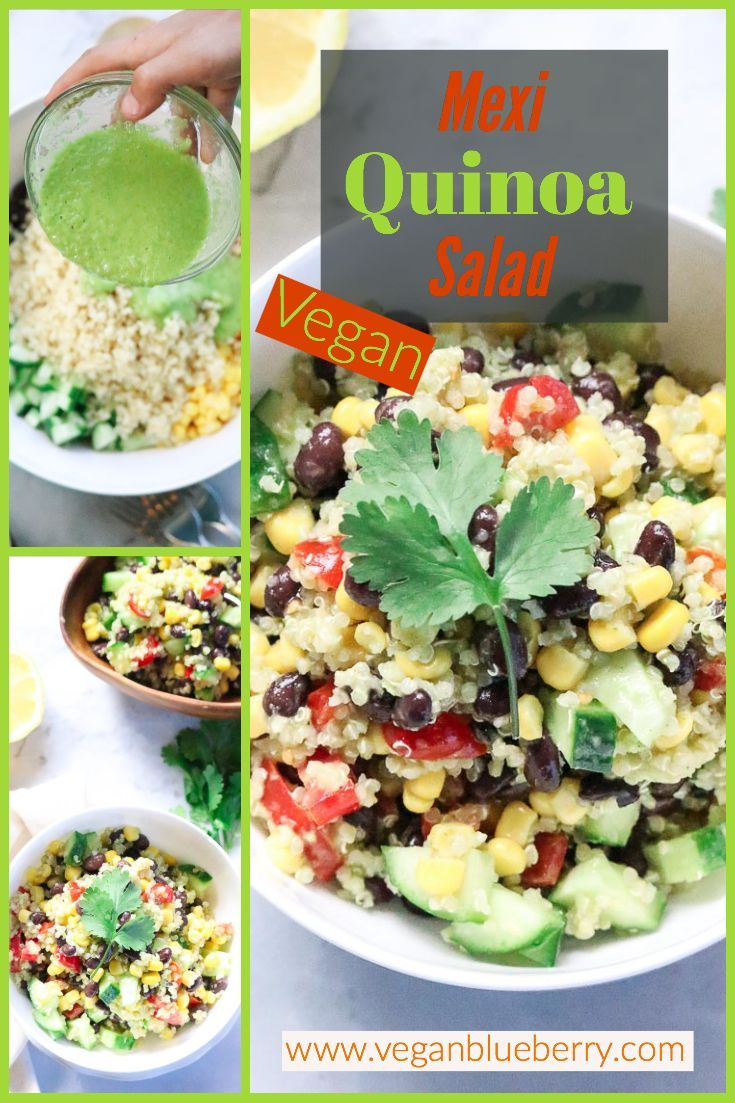 Mexican Quinoa Salad Vegan