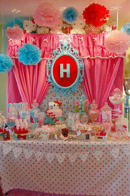 FIESTAS TEMA HELLO KITTY FIESTAS TEMA HELLO KITTY Pinterest