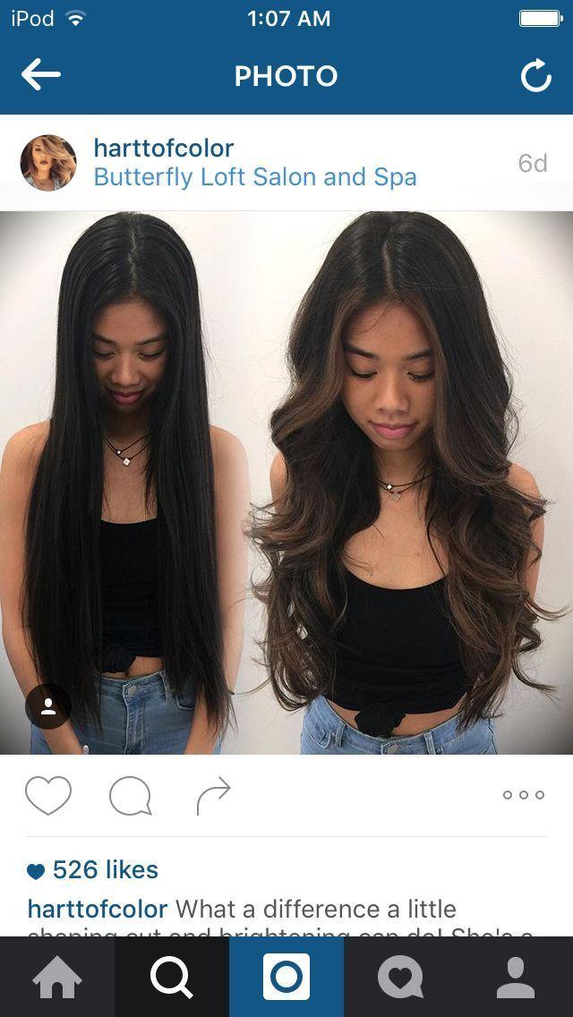 Photo of #Negro #Cabello negro asiático #Pelo #Hechos destacados #Los sutiles reflejos sutiles para el cabello negro …, #Asiático …