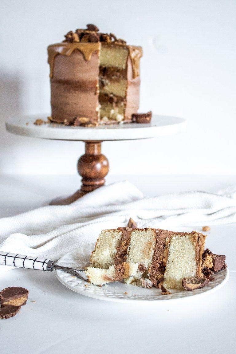 Chocolate peanut butter reeses cake recipe reeses